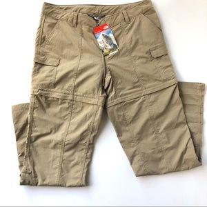 NWT The North Face Paramount Convertible Pants